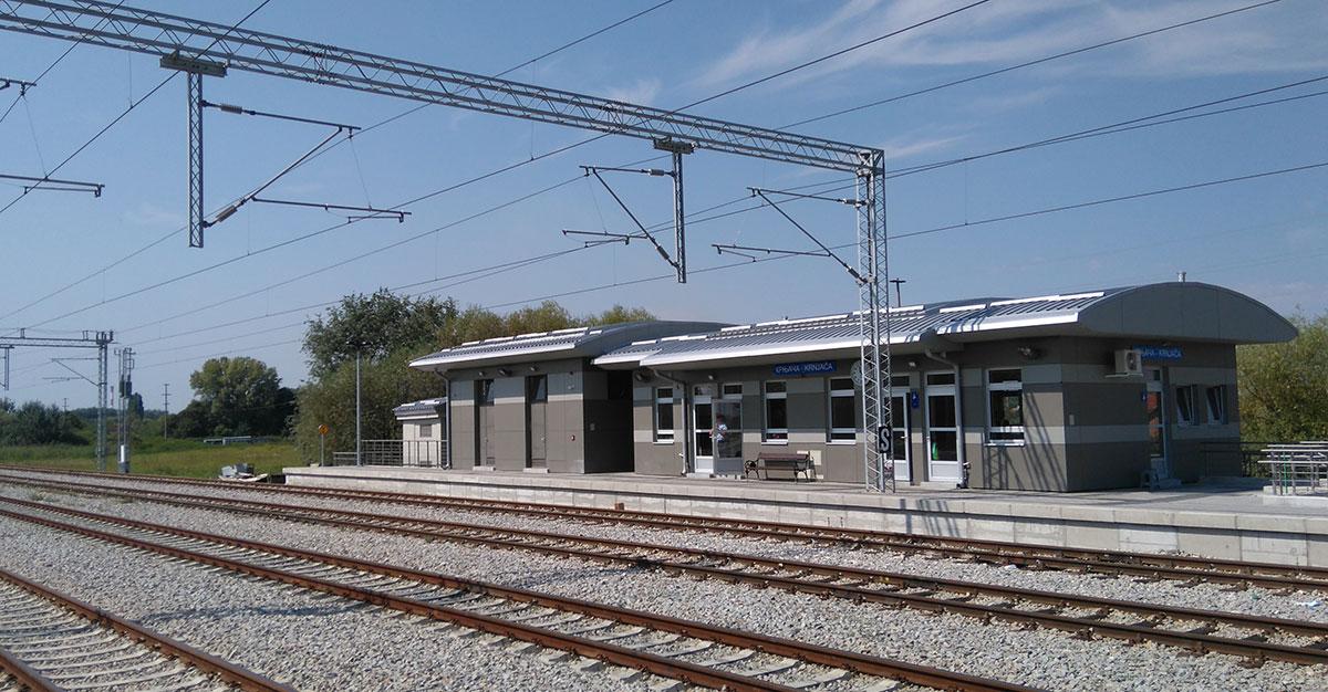 Успоставља се саобраћај по новој двоколосечној прузи између станица Панчевачки мост и Овча