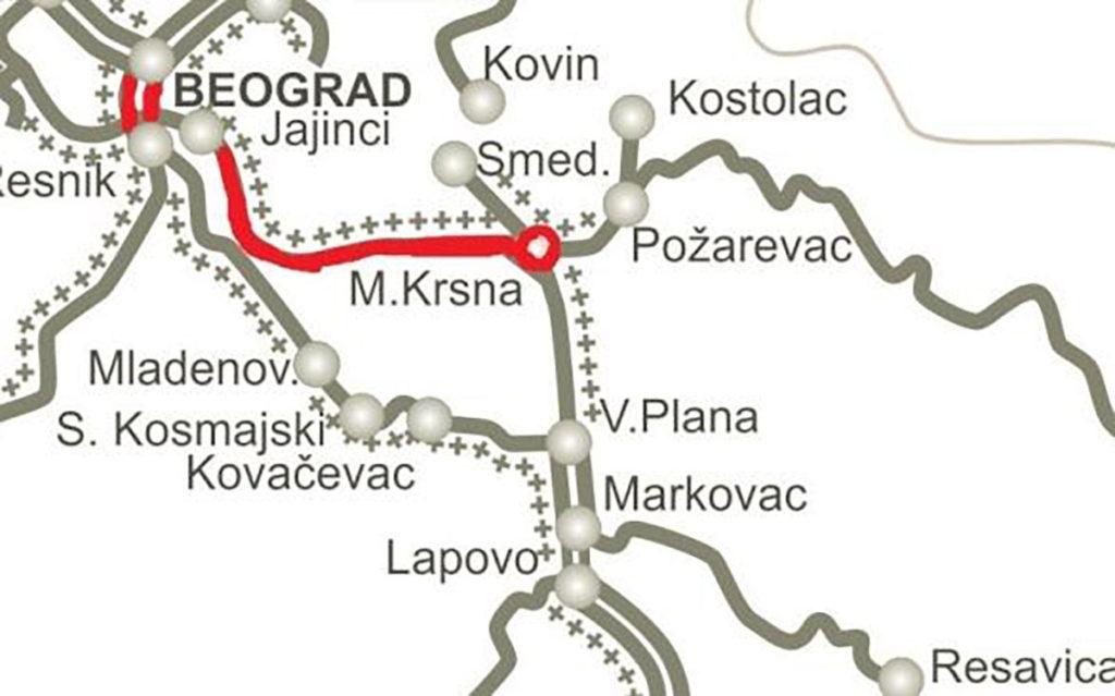 Rehabilitacija pruga na Koridoru X – EBRD V