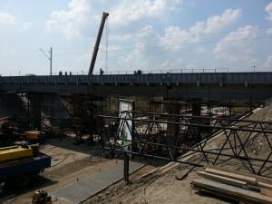 Završena druga faza radova na nadvožnjacima preko Zrenjaninskog  puta, 12. avgust 2016