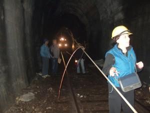 Одрон у тунелу на барској прузи, 7.август 2016.