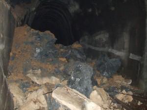 Odron u tunelu na barskoj pruzi, 7.avgust 2016.