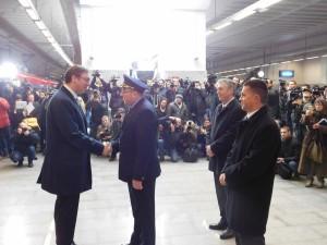 Отварање станице Београд центар 26. јануар 2016. године