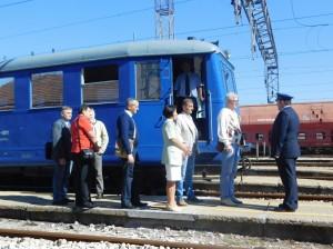 Обилазак инфраструктуре чвора Панчево, 13. август 2016.