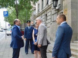Први потпредседник руских железница, Александар Сергејевич Мишарин, посетио нашу компанију