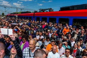 "Puštena u saobraćaj rekonstruisana i modernizovana poslednja od tri ""Južne"" deonice, Vinarci – Đorđevo na železničkom Koridoru 10"